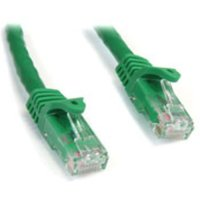 StarTech.com 15 ft Green Snagless Cat6 UTP Patch Cable - ETL Verified