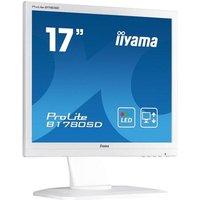 "Iiyama ProLite B1780SD-W1 17"" LED VGA DVI Monitor with Speakers"