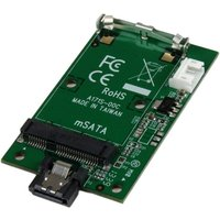StarTech.com SATA to mSATA SSD Adapter - Port Mounted SATA to Mini SATA Converter Card