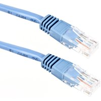 Image of Xenta Cat5e UTP Patch Cable (Blue) 1m