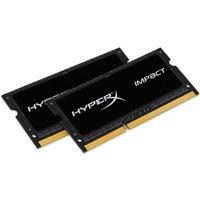 HyperX Impact Black 8GB 1600MHz DDR3L CL9 SODIMM (Kit of 2) 1.35V Memory