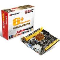 Biostar A68N-2100 Ver. 6.x AMD Fusion APU VGA HDMI 6-Channel HD Audio Mini ITX Motherboard