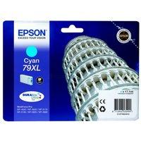 Image of Epson DURABrite 79XL Cyan Ink Cartridge