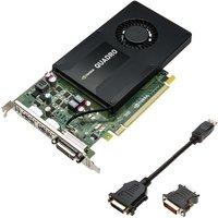 Image of PNY NVIDIA Quadro K2200 4GB GDDR5 Dual DVI DisplayPort PCI-E Graphics card