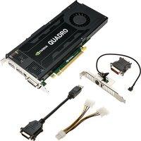 Image of PNY NVIDIA Quadro K4200 4GB GDDR5 Dual DVI DisplayPort PCI-E Graphics card