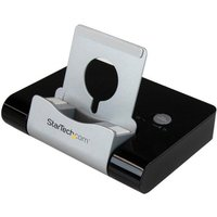 StarTech.com 3 Port USB 3.0 Hub plus Combo Fast-Charge Port w/ Tablet Stand