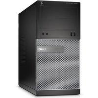 Dell Optiplex 3020 MT Desktop PC, Intel Core i5-4590 3.3GHz, 8GB RAM, 1TB HDD, DVDRW, Intel HD, Windows 7 + 8.1 Pro