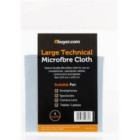 Ebuyer.com Optical Grade Technical Microfibre Cloth - Large