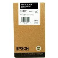 Image of Epson T6031 Photo High Yield Black Inkjet Cartridge