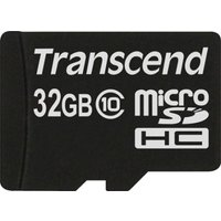 Transcend Premium (32GB) Micro SDHC Flash Card Without Adaptor (class 10)