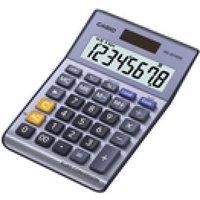 Casio 8-Digit Calculator Silver