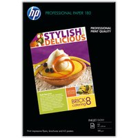 HP Professional A3 180gsm Glossy Inkjet Paper - 50 Sheets