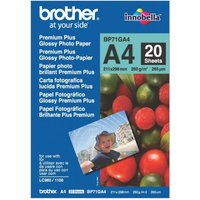 Brother Innobella Premium Plus A4 260gsm Glossy photo paper - 20 sheets