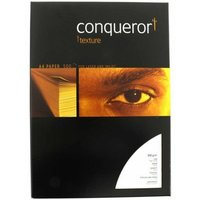 *Conqueror 100gsm A4 High White Bond Laid Multi-Function Business Paper - 500 Pack