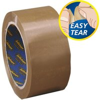 Image of Sellotape Packaging Tape 50mmx66m Buff - 6 Pack