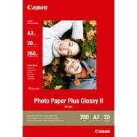 Canon Plus II PP-201 A3 275gsm High Quality Glossy photo paper - 20 sheets