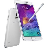 'Samsung N910 Galaxy Note 4 Sim Free Android - White