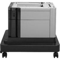 HP LaserJet 1x500-sheet Paper Feeder and Cabinet