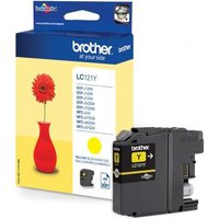 Brother LC121 Standard Yellow Ink Cartridge