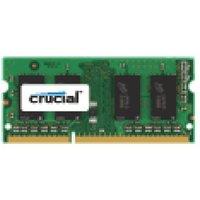 Crucial 2GB DDR3 1600 MT/s (PC3-12800) CL11 SODIMM 204pin 1.35V/1.5V Single Ranked Laptop Memory