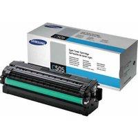 Samsung CLT-C505L High Yield Cyan Toner Cartridge - 3,500 Pages