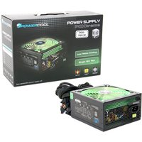PowerCool 750W 80+ Single 12v V2.31 High Efficiency Black PSU