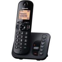 'Panasonic Kx-tgc220eb Single Dect Phone - Black
