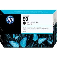 HP 80 350ml Black Ink Cartridge - C4871A