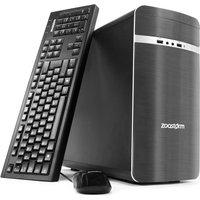 Zoostorm Home Media Desktop PC, Intel Core i3-4170 Processor, 8GB RAM, 2TB HDD, DVD/RW, Windows 10 Home - 7260-0098