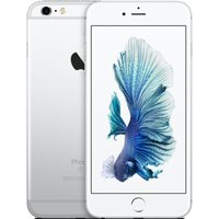 iPhone 6S+ 128GB Silver, A9 chip with 64-bit, Retina HD display with 3D Touch 5.5 -inch, 12-megapixel and facetime 5-megapixel,