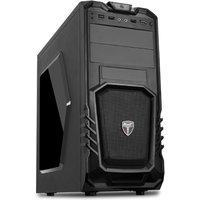 AvP Storm-P27 Mid Tower Black 1x12cm Bk Fan USB 3.0 Window Case