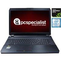 PC Specialist Defiance II V17-980 Gaming Laptop, Intel Core i7-6700HQ 2.60GHz, 16GB RAM, 480GB SSD, 1TB HDD, 17.3andquot; FHD, NVIDIA GTX 980M, WIFI, Webcam, Bluetooth, Windows 10 Home 64bit