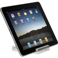 Targus 7 - 10 inches / 17.8 - 25.4cm Mini Stand for Media Tablets - Web tablet desktop stand - clear - acrylic