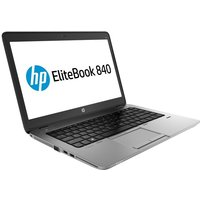 HP EliteBook 840 Laptop, Intel Core i7-5500U, 4GB RAM, 500GB HDD, 14andquot; FHD, N0-DVD, Intel HD, WIFI, Webcam, Bluetooth, FingerPrint Reader, Windows 7 + 8.1 Pro