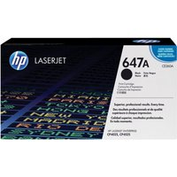 HP 647A Black Toner Cartridge - CE260A