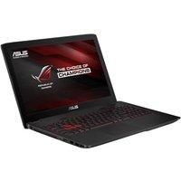 Asus GL552VW Gaming Laptop, Intel Core i7 6700HQ 2.6GHz, 8GB RAM, 1TB HDD, 256GB SSD, 15.6 FHD LED, DVDRW, NVIDIA GTX 960M, WIFI, Bluetooth, Webcam, Windows 10 64