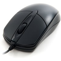 'Xenta Black Wired 3 Button Optical Scroll Mouse - Usb