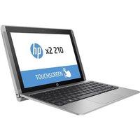 HP X2 210 Convertible Laptop, Intel Atom Z8300, 10.1 WXGA AG LED UWVA, UMA, Webcam, 2GB DDR3 RAM, 32GB eMMC, BLUETOOTH, Windows 10 Pro 64 bit