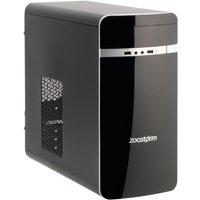 Zoostorm Desktop PC, Intel Celeron Dual Core 1037U, 4GB RAM, 1TB HDD, DVDRW, Intel HD, mATX Case, Windows 10 Home - 7260-0138