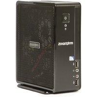 Zoostorm USFF Desktop PC, Intel Celeron 1037U 1.8GHz, 4GB RAM, 500GB HDD, No-DVD, Intel HD, Windows 10 Home - 7260-0140