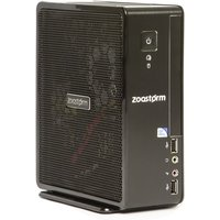 Zoostorm USFF Desktop PC, Intel Celeron 1037U 1.8GHz, 8GB RAM, 1TB HDD, No-DVD, Intel HD, Windows 10 Home - 7260-0142