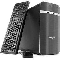 Zoostorm Desktop PC, AMD A10 7700K 3.4GHz, 8GB RAM, 2TB HDD, DVDRW, AMD, Windows 10 Home - 7260-0147