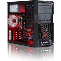 Zoostorm Gaming Desktop PC, Intel Pentium G4400 3.3GHz, 8GB RAM, 1TB HDD, DVDRW, NVIDIA GTX750Ti, Windows 10 Home