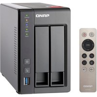 QNAP TS-251+-2G 6TB (2 x 3TB WD RED) 2GB RAM 2 Bay Desktop NAS