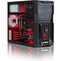 Zoostorm Tempest Gaming andamp; Media Desktop PC, AMD A8-7600 Processor, 8GB RAM, 1TB HDD, DVD/RW, AMD Radeon R7 Graphics, Windows 10 Home - 7260-5100