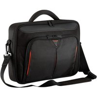 """Targus Classic+ Clamshell Case For Laptops up to 15.6"""" - Black / Red"""