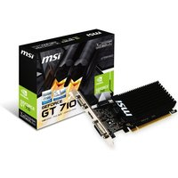 MSI GeForce GT 710 1GB DDR3 Low Profile Graphics Card