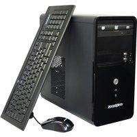 Zoostorm Desktop PC, Intel Pentium G850 2.9GHz, 4GB RAM, 500GB HDD, DVDRW, Intel HD, Windows 8 Pro 64bit