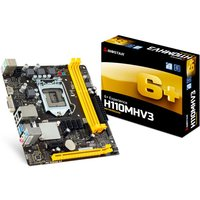 Biostar H110MHV3 Ver. 7.x Socket 1151 VGA HDMI 8-Channel HD Audio Micro ATX Motherboard