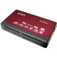 Dynamode USB 6 Slot Multi Card Reader  (SDHC  Mini SD  MicroSDHC  XD Picture Card  Memory Stick  MMC Mobile+)